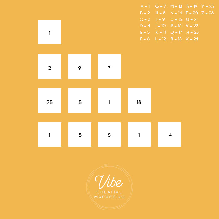 decode a number puzzle