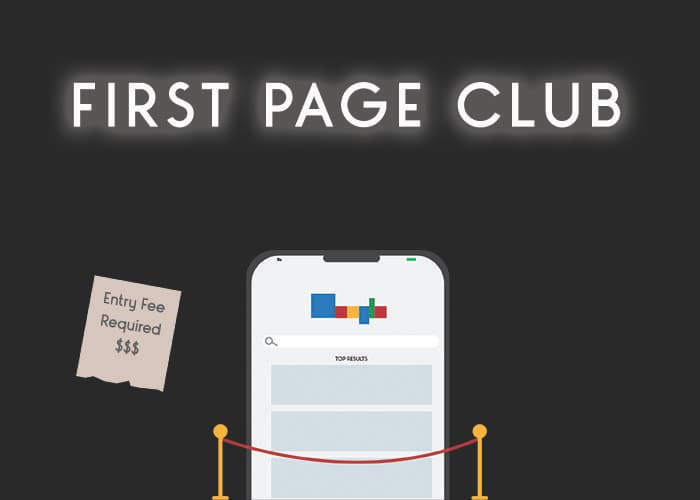 Exclusive First Page Club