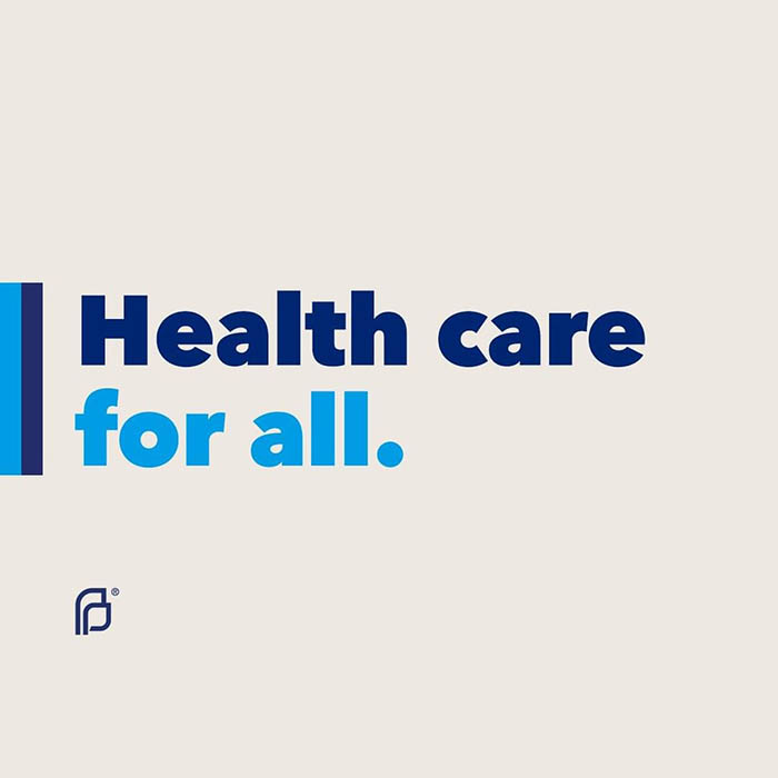 text: Health care for all.