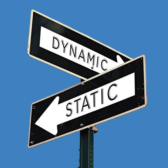 Static and Dynamic street signs