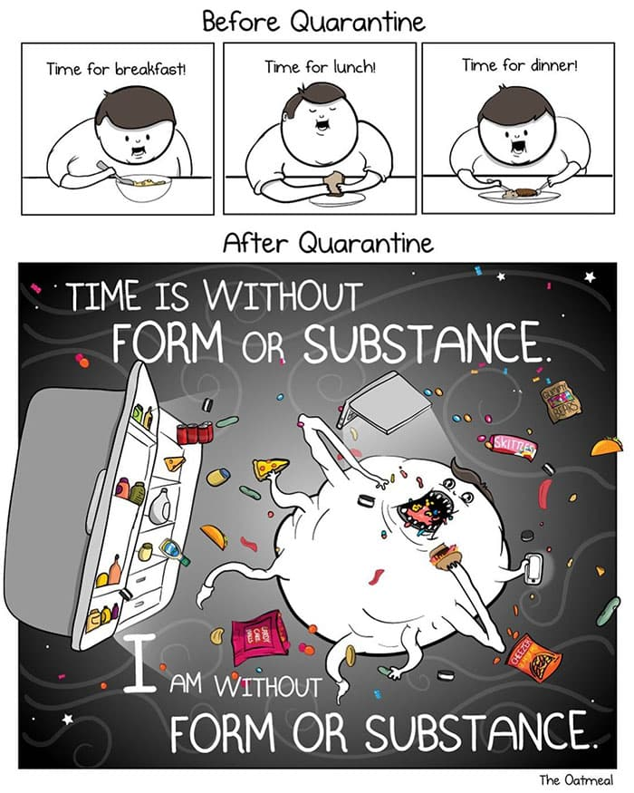 the oatmeal cartoon